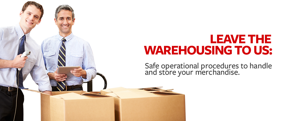 Leave the warehousing to us